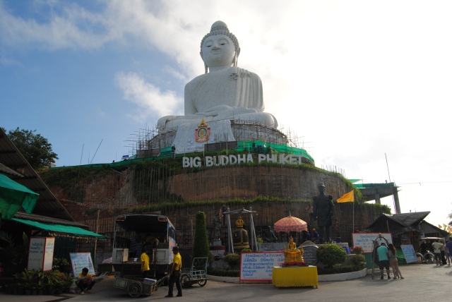 Big Cement Buddha