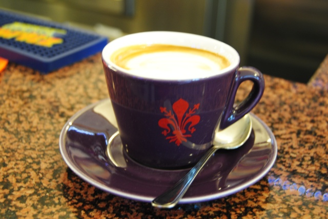Espresso Cup With The Symbol Of Florence