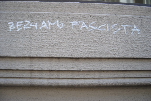 Always something about fascism. survivinginitaly.com