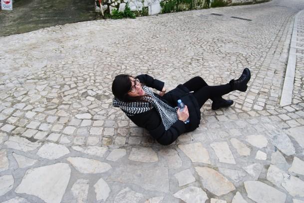 ME in Sperlonga with Francesco in 2013. I LOVED IT. So fun.