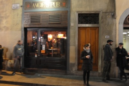 This is where I met my husband. Angie's pub on via dei neri