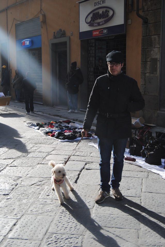 Dogs In Italy: Oliver With Francesco