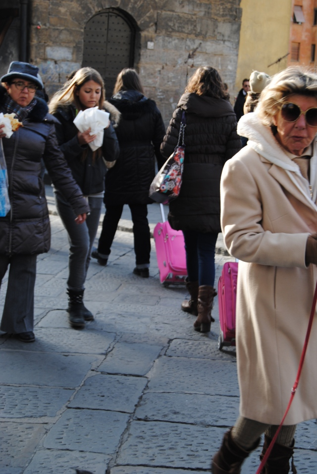 Amazing Older Florentine Woman In Florence