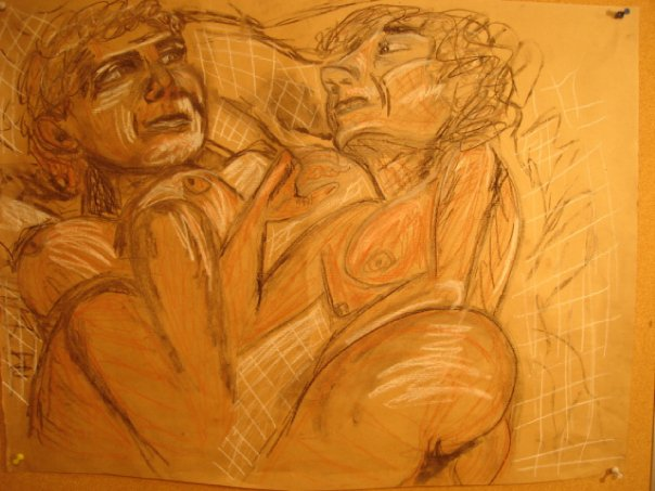 One Of My Sketches From Art School In Florence