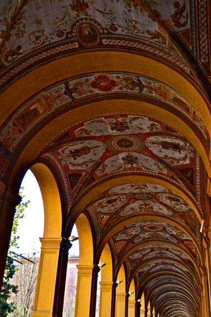 Archways on Via Cavour