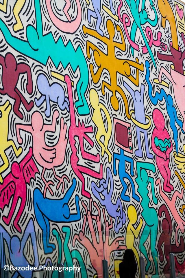 """Keith Haring's Last Mural """"Tuttomondo"""""""