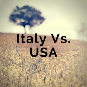 Italy Vs. USA