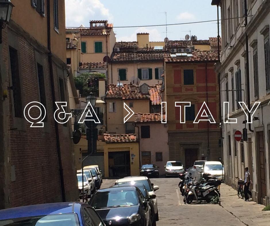 I need help writing an italian essay!?